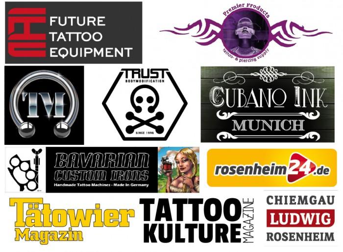 Sponsoren Tattoo Tage 2017